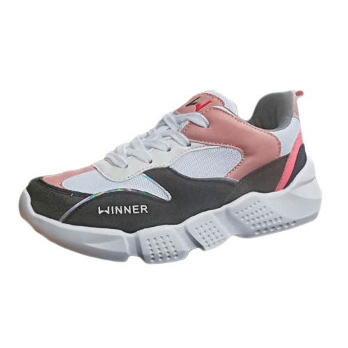 TENIS W MUJER QUSHION ONE PINK GRAY TALLA 9