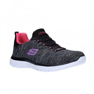 Tenis Lifestyle Skechers Dynamight 2.0 - Gris-Negro