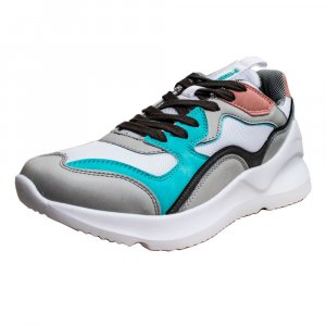 TENIS W MUJER NOVELTY GREEN GRAY