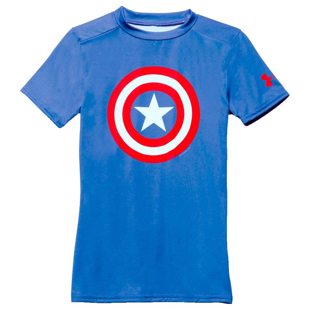 Camiseta Under Armour Alter Ego Capitan America Niño