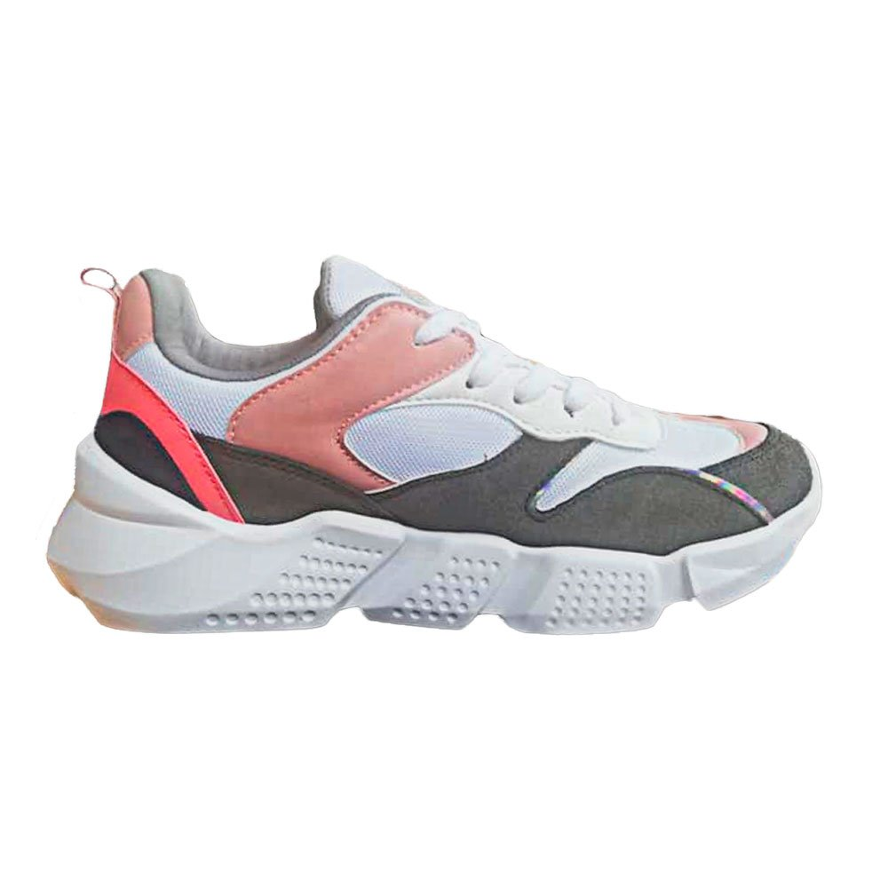 TENIS W MUJER QUSHION ONE PINK GRAY TALLA 10